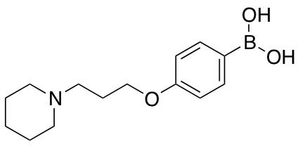 {4-[3-(Piperidin-1-yl)propoxy]phenyl}boronic Acid