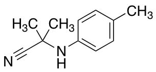 2-Methyl-2-[(4-methylphenyl)amino]propanenitrile