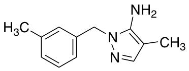 4-Methyl-1-(3-methylbenzyl)-1H-pyrazol-5-amine