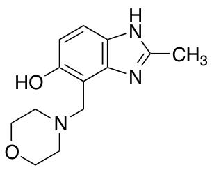 2-Methyl-4-(morpholin-4-ylmethyl)-1H-1,3-benzodiazol-5-ol