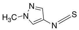 4-Isothiocyanato-1-methyl-1H-pyrazole
