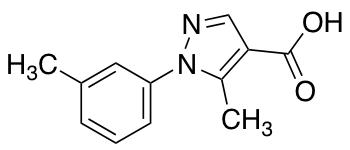 5-Methyl-1-(3-methylphenyl)-1H-pyrazole-4-carboxylic Acid