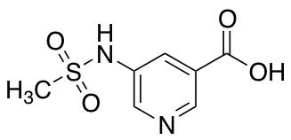 5-Methanesulfonamidopyridine-3-carboxylic Acid