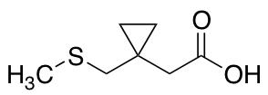2-{1-[(Methylsulfanyl)methyl]cyclopropyl}acetic Acid