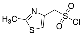 (2-Methyl-1,3-thiazol-4-yl)methanesulfonyl Chloride
