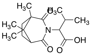 3-Methyl-2-{1,8,8-trimethyl-2,4-dioxo-3-azabicyclo[3.2.1]octan-3-yl}butanoic Acid