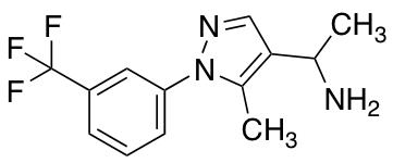 1-{5-Methyl-1-[3-(trifluoromethyl)phenyl]-1H-pyrazol-4-yl}ethan-1-amine