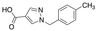 1-(4-Methylbenzyl)-1H-pyrazole-4-carboxylic Acid