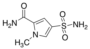 1-Methyl-4-sulfamoyl-1H-pyrrole-2-carboxamide