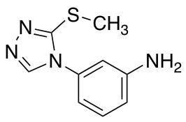 3-[3-(Methylsulfanyl)-4H-1,2,4-triazol-4-yl]aniline