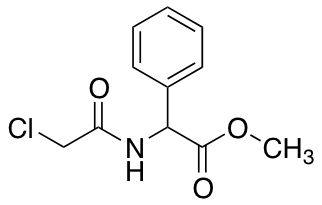 Methyl-2-[(chloroacetyl)amino]-2-phenylacetate