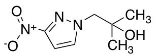 2-Methyl-1-(3-nitro-1H-pyrazol-1-yl)propan-2-ol