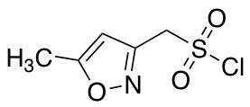 (5-Methyl-1,2-oxazol-3-yl)methanesulfonyl Chloride