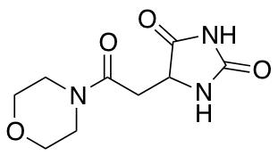 5-[2-(Morpholin-4-yl)-2-oxoethyl]imidazolidine-2,4-dione