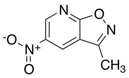 3-methyl-5-nitro-[1,2]oxazolo[5,4-b]pyridine