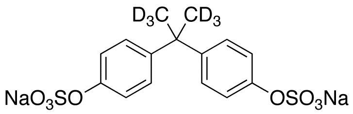 Bisphenol A Bissulfate-d6 Disodium Salt