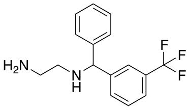 N-{Phenyl[3-(trifluoromethyl)phenyl]methyl}ethane-1,2-diamine