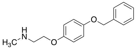 {2-[4-(Benzyloxy)phenoxy]ethyl}(methyl)amine