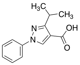 1-Phenyl-3-(propan-2-yl)-1H-pyrazole-4-carboxylic Acid