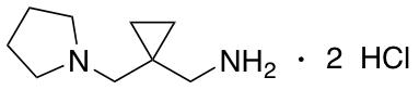 1-[1-(1-Pyrrolidinylmethyl)cyclopropyl]methanamine Dihydrochloride