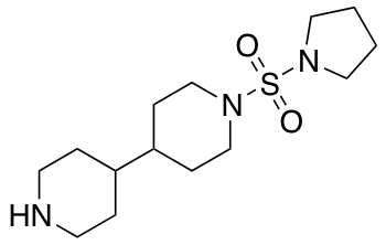 1-(Pyrrolidin-1-ylsulfonyl)-4,4'-bipiperidine