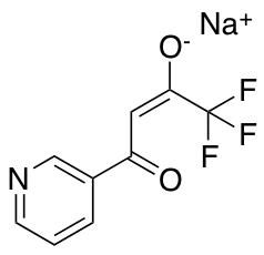 Sodium 1,1,1-Trifluoro-4-oxo-4-(pyridin-3-yl)but-2-en-2-olate