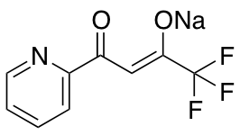 Sodium (2Z)-1,1,1-Trifluoro-4-oxo-4-(pyridin-2-yl)but-2-en-2-olate