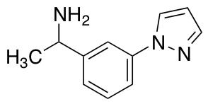 1-[3-(1H-pyrazol-1-yl)phenyl]ethan-1-amine