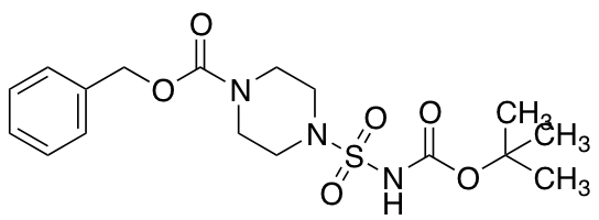 Benzyl 4-{[(Tert-butoxycarbonyl)amino]sulfonyl}tetrahydro-1(2H)-pyrazinecarboxylate