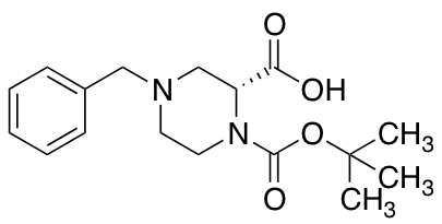 (R)-4-Benzyl-1-(tert-butoxycarbonyl)piperazine-2-carboxylic Acid