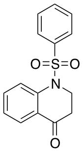 1-Benzenesulfonyl-2,3-dihydro-1H-quinolin-4-one