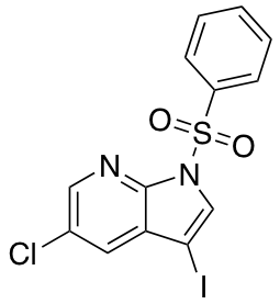 1-Benzenesulfonyl-5-chloro-3-iodo-1H-pyrrolo[2,3-b]pyridine