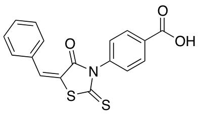 4-(5-Benzylidene-4-oxo-2-thioxothiazolidin-3-yl)benzoic Acid