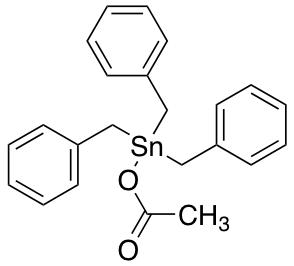 Tribenzylstannyl Acetate