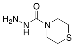 Thiomorpholine-4-carbohydrazide