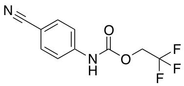2,2,2-Rrifluoroethyl N-(4-Cyanophenyl)carbamate