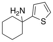 1-(Thiophen-2-yl)cyclohexan-1-amine