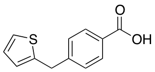 4-(Thien-2-ylmethyl)benzoic Acid