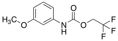 2,2,2-Trifluoroethyl N-(3-methoxyphenyl)carbamate