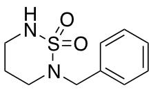 2-Benzyl-1,2,6-thiadiazinane 1,1-Dioxide