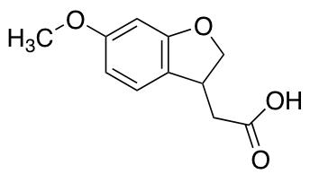 2-(6-methoxy-2,3-dihydro-1-benzofuran-3-yl)acetic Acid