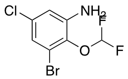 3-Bromo-5-chloro-2-(difluoromethoxy)aniline