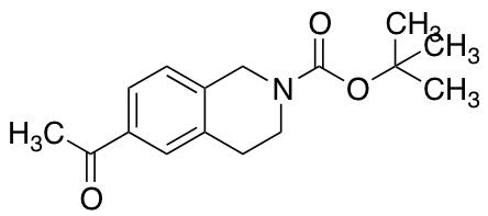 2-Boc-6-acetyl-1,2,3,4-tetrahydroisoquinoline