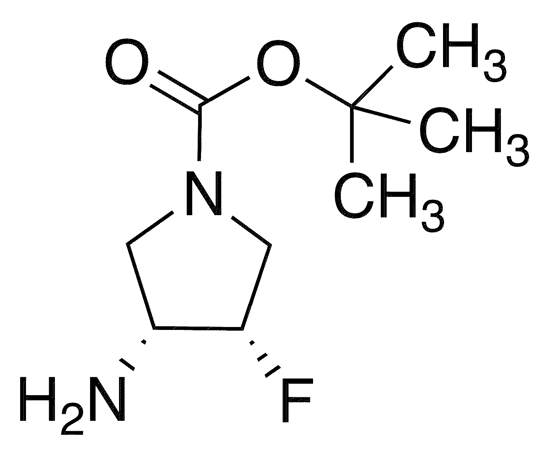 cis-1-Boc-3-amino-4-fluoropyrrolidine