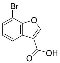 7-bromo-1-benzofuran-3-carboxylic acid