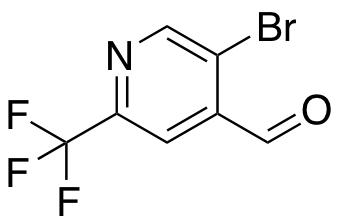 5-Bromo-2-(trifluoromethyl)isonicotinaldehyde