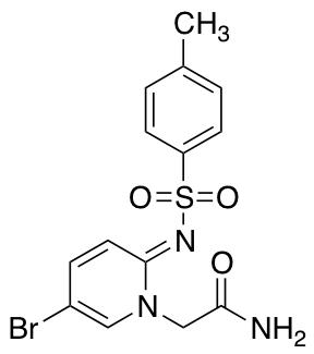 (E)-2-(5-Bromo-2-(tosylimino)pyridin-1(2H)-yl)acetamide