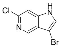 3-Bromo-6-chloro-1H-pyrolo[3,2-c]pyridine