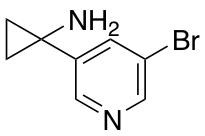 1-(5-Bromopyridin-3-yl)cyclopropanamine
