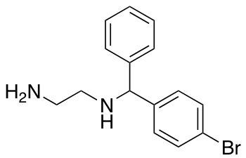 N-[(4-Bromophenyl)(phenyl)methyl]ethane-1,2-diamine
